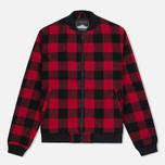 Мужская куртка бомбер Penfield Glendale Buffalo Plaid Red/Black фото- 0
