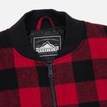Мужская куртка бомбер Penfield Glendale Buffalo Plaid Red/Black фото- 1