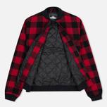 Мужская куртка бомбер Penfield Glendale Buffalo Plaid Red/Black фото- 2