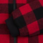 Мужская куртка бомбер Penfield Glendale Buffalo Plaid Red/Black фото- 3