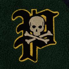 Мужская куртка бомбер Polo Ralph Lauren Fleece Letterman College Green/Cruise Navy фото- 2