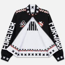 Мужская куртка бомбер Puma x JAHNKOY Reversible Black/White фото- 2