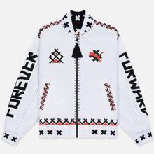 Мужская куртка бомбер Puma x JAHNKOY Reversible Black/White фото- 7