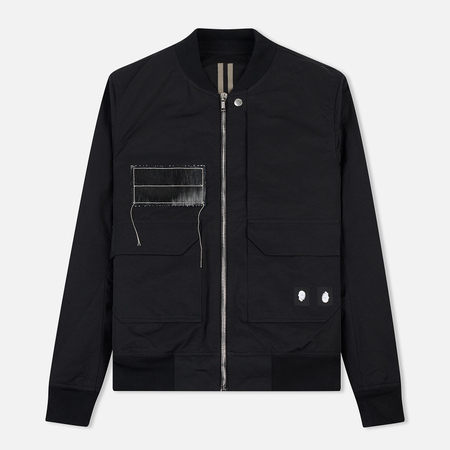 Мужская куртка бомбер Rick Owens DRKSHDW Woven Padded Cop Flight Black