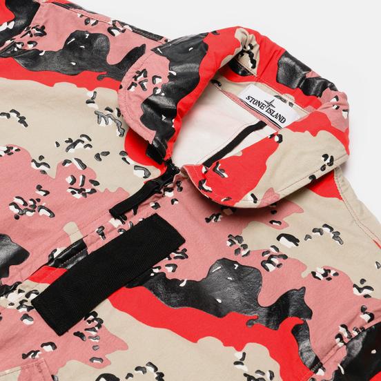 Мужская куртка бомбер Stone Island 3C+PU Desert Camo Plaster