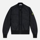 Мужская куртка бомбер Stone Island Garment Dyed Crinkle Reps NY Black фото- 0
