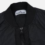 Мужская куртка бомбер Stone Island Garment Dyed Crinkle Reps NY Black фото- 1