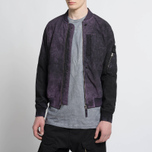 Мужская куртка бомбер Stone Island Shadow Project Asym TPX-Polyester Black Violet фото- 8