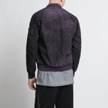 Мужская куртка бомбер Stone Island Shadow Project Asym TPX-Polyester Black Violet фото- 9