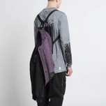 Мужская куртка бомбер Stone Island Shadow Project Asym TPX-Polyester Black Violet фото- 10