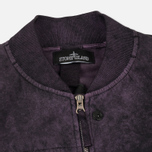 Мужская куртка бомбер Stone Island Shadow Project Asym TPX-Polyester Black Violet фото- 1
