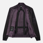 Мужская куртка бомбер Stone Island Shadow Project Asym TPX-Polyester Black Violet фото- 3