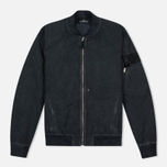 Мужская куртка бомбер Stone Island Shadow Project Bomber David TC Anthracite фото- 0
