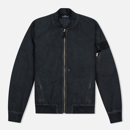 Мужская куртка бомбер Stone Island Shadow Project Bomber David TC Anthracite