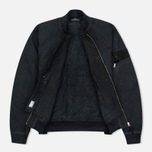Мужская куртка бомбер Stone Island Shadow Project Bomber David TC Anthracite фото- 2