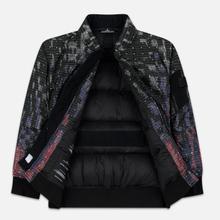 Мужская куртка бомбер Stone Island Shadow Project DPM Chine Wool Black фото- 2