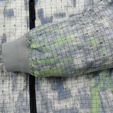 Мужская куртка бомбер Stone Island Shadow Project DPM Chine Wool Pistachio фото- 4