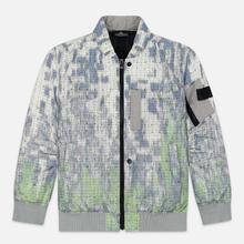 Мужская куртка бомбер Stone Island Shadow Project DPM Chine Wool Pistachio фото- 0