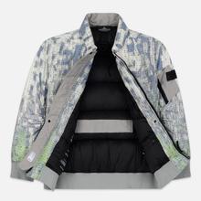 Мужская куртка бомбер Stone Island Shadow Project DPM Chine Wool Pistachio фото- 2