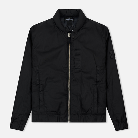 Мужская куртка бомбер Stone Island Shadow Project Garment Dyed Padded Black