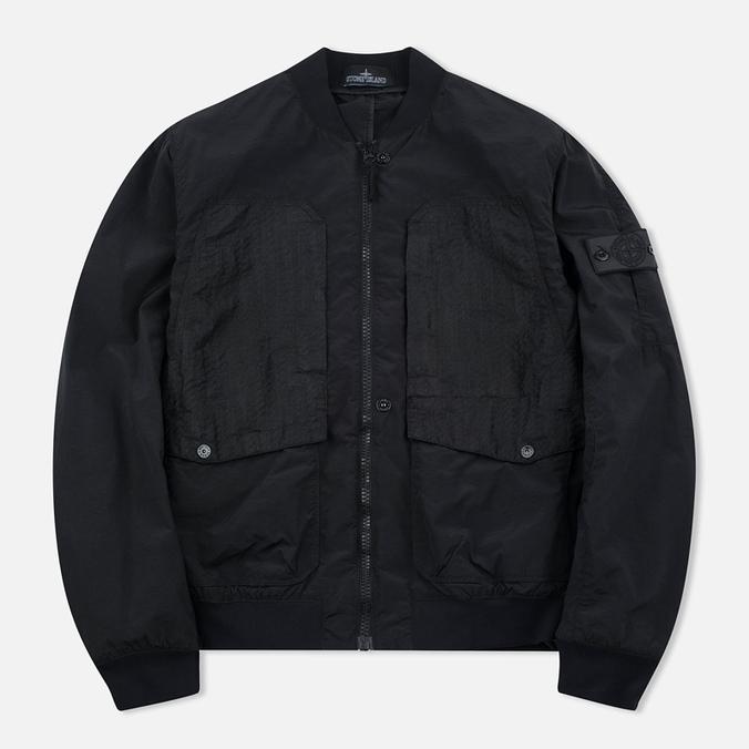 Мужская куртка бомбер Stone Island Shadow Project MA-1 Black