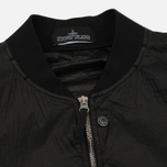Мужская куртка бомбер Stone Island Shadow Project Sheer Vent Lucid Ultralight Nylon Black фото- 1