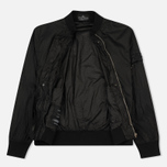 Мужская куртка бомбер Stone Island Shadow Project Sheer Vent Lucid Ultralight Nylon Black фото- 2