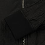 Мужская куртка бомбер Stone Island Shadow Project Sheer Vent Lucid Ultralight Nylon Black фото- 4