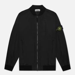 Мужская куртка бомбер Stone Island Skin Touch Nylon-TC Black