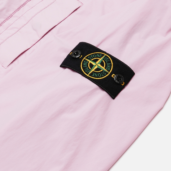 Мужская куртка бомбер Stone Island Skin Touch Nylon-TC Quartz Pink
