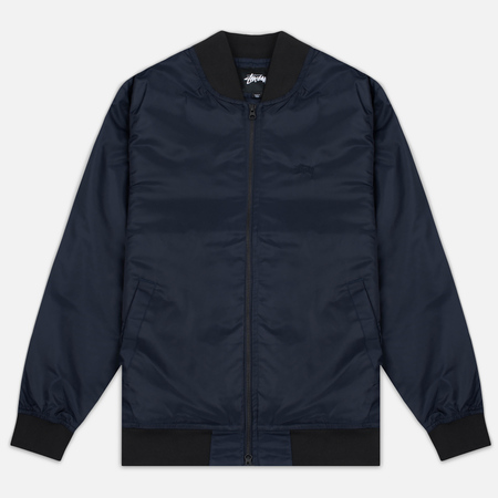 Мужская куртка бомбер Stussy Flight Satin Navy