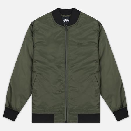 Мужская куртка бомбер Stussy Flight Satin Olive