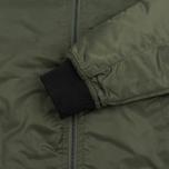Мужская куртка бомбер Stussy Flight Satin Olive фото- 3
