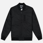 Мужская куртка бомбер Stussy MA-1 Black фото- 0
