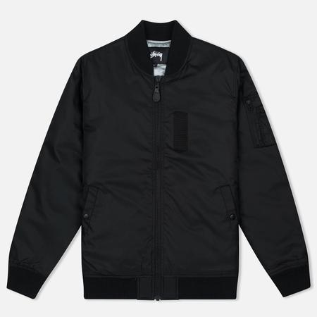 Мужская куртка бомбер Stussy MA-1 Black