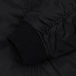 Мужская куртка бомбер Stussy MA-1 Black фото- 3