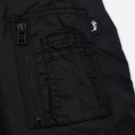 Мужская куртка бомбер Stussy MA-1 Black фото- 4