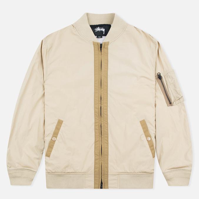 Мужская куртка бомбер Stussy Nylon MA-1 Khaki