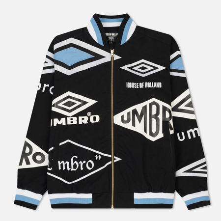 Мужская куртка бомбер Umbro x House Of Holland Logo Cotton Drill Black