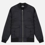 Мужская куртка бомбер Undefeated Nylon Stratus Black фото- 0