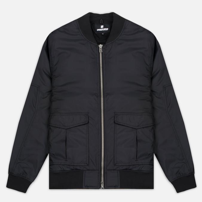 Мужская куртка бомбер Undefeated Nylon Stratus Black