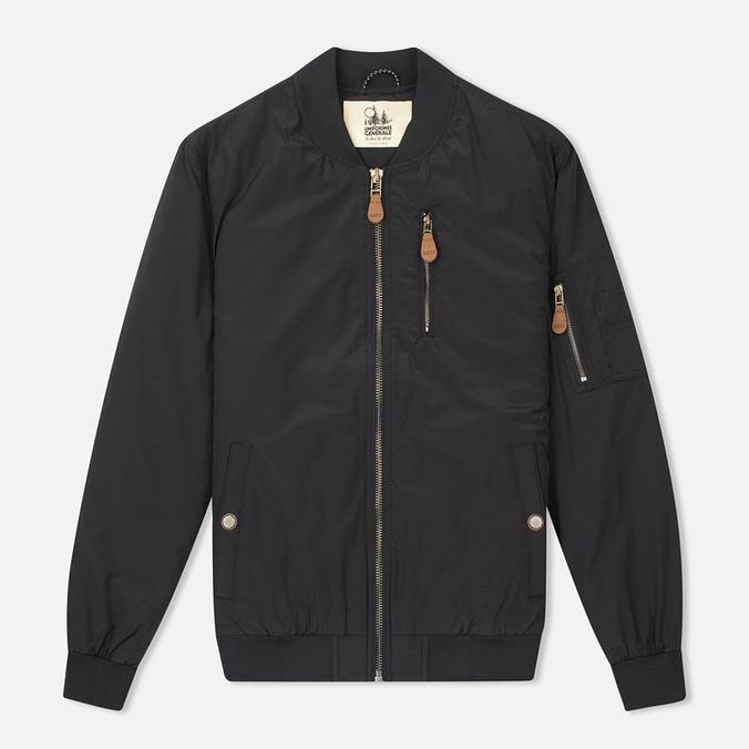 Мужская куртка бомбер Uniformes Generale Hurricane Black