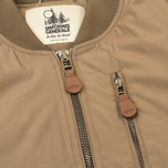 Мужская куртка бомбер Uniformes Generale Hurricane Swiss Khaki фото- 3