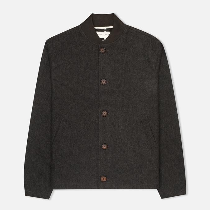 Мужская куртка бомбер Universal Works Budgie Charcoal