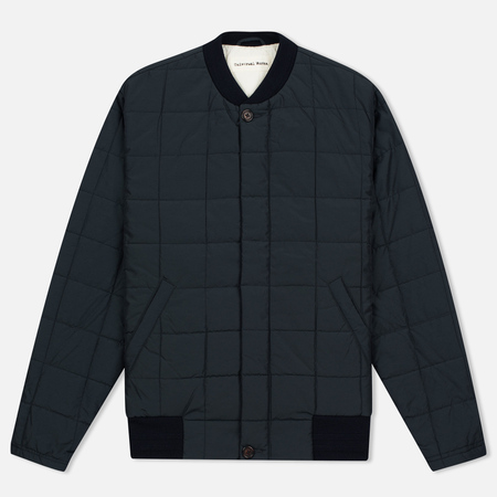 Мужская куртка бомбер Universal Works Quilted Idra Nylon Navy