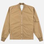 Мужская куртка бомбер Universal Works UW/MA1 Italian Nylon Camel фото- 0