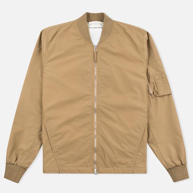 Мужская куртка бомбер Universal Works UW/MA1 Italian Nylon Camel