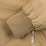 Мужская куртка бомбер Universal Works UW/MA1 Italian Nylon Camel фото- 5