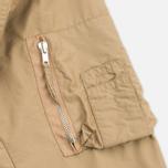 Мужская куртка бомбер Universal Works UW/MA1 Italian Nylon Camel фото- 4