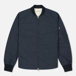 Мужская куртка бомбер Universal Works UW/MA1 Olmetex Tech Cotton Navy фото- 0